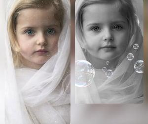 beautiful, little girl, and nice image