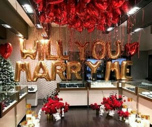 love, marriage, and red image