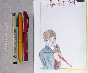 harry potter, plan with me, and bujo inspiration image