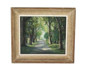 etsy, forest art, and landscape art image