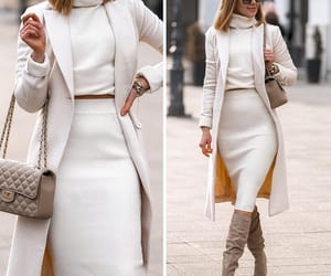 beige, fashion, and fashionista image