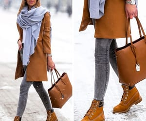 boots, coat, and camel image