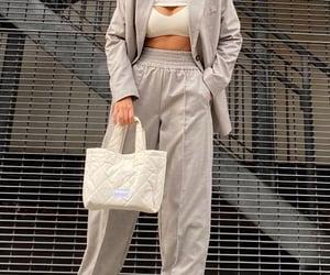 grey blazer, street style, and everyday look image
