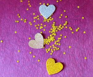 art photo, purple, and stars image