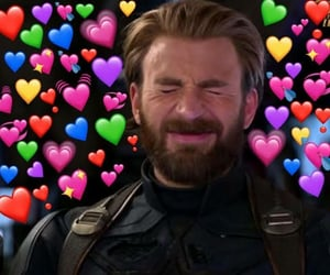 meme, love, and Avengers image