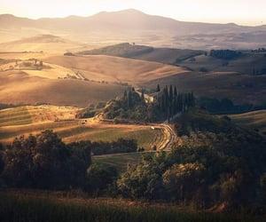 italy, Tuscany, and landscape image