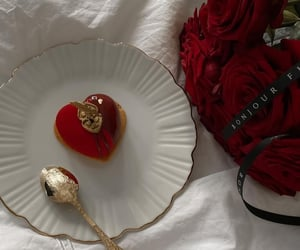 red, aesthetic, and delicious image
