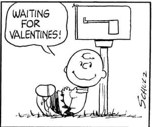 peanuts, charlie brown, and valentine'day image