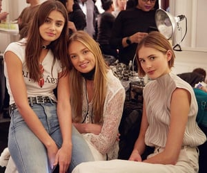 taylor hill and romee strijd image