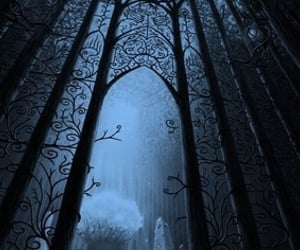 dark, fantasy, and mist image