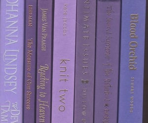 aesthetic, book, and purple image
