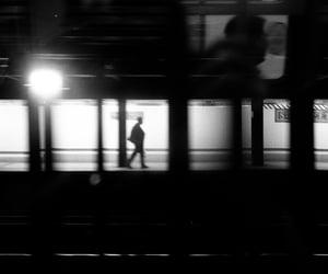 blackandwhite, metro, and b&w image