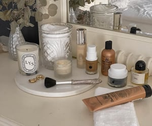 cosmetics, essentials, and Foundation image