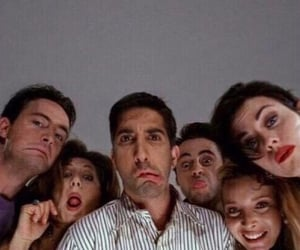 actors, David Schwimmer, and iconic image
