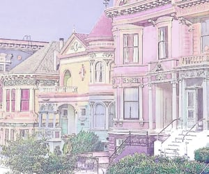 color, house, and pastel colors image