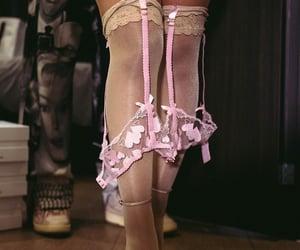 doha, heels, and garter image