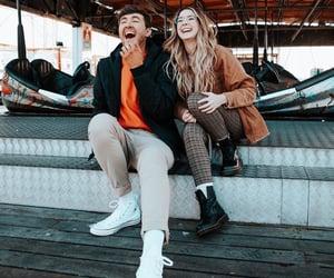 best friends, brighton, and pier image