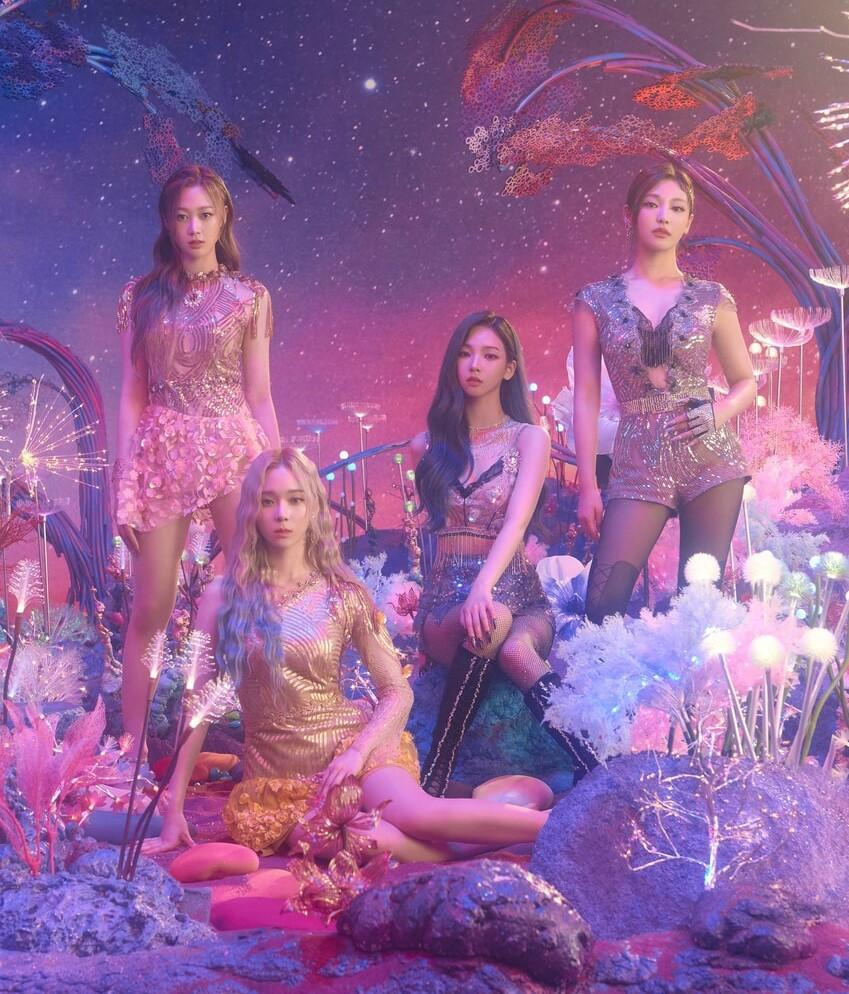 k-pop, rookies, and aespa image