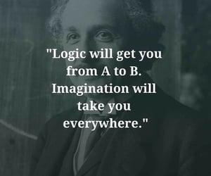 logic, Albert Einstein, and creativity image