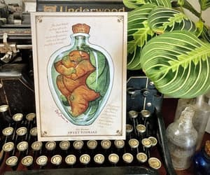 etsy, vintage botanical, and vegetable people image