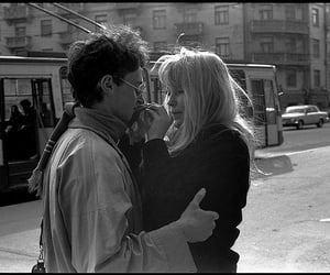 black and white, couple, and kyiv image