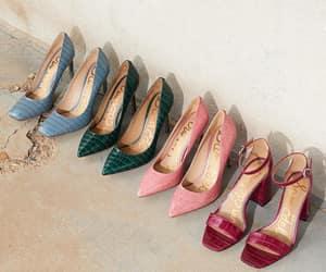 elegant, heels, and leather image