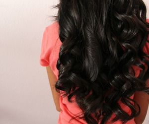 hair, curls, and pretty image
