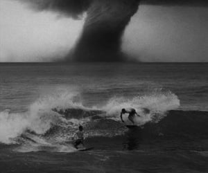 surf, tornado, and surfer image