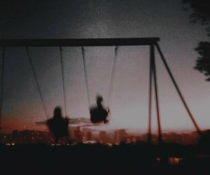 aesthetic, fun, and swings image