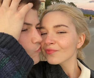 couples, young love, and dylan minnette image