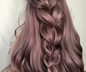 blonde, hair dye, and hairstyles image