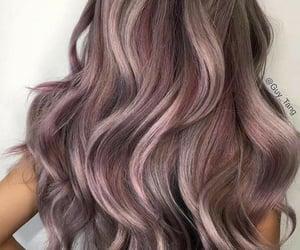 ash, hair, and pink image