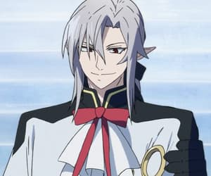 anime, seraph of the end, and vampire image