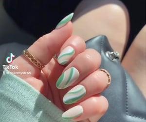 acrylic, nailpolish, and nails image