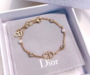 bracelet, dior, and fashion image