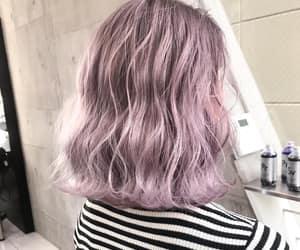 ash, hair, and purple image