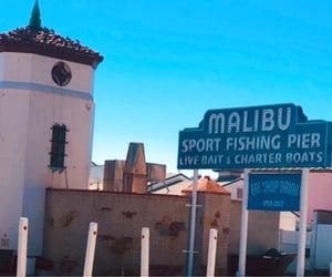 california, malibu, and pier image