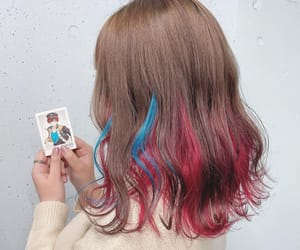 brown, dye, and hairstyles image