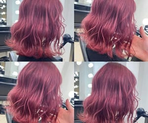 dye, hairstyles, and hot pink image