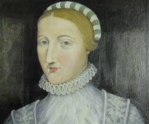 anne, lady, and painting image