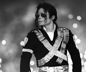 black and white and michael jackson image