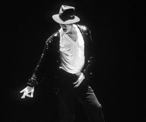 michael jackson and black and white image