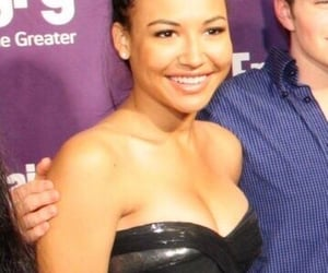 glee, naya rivera, and santana lopez image