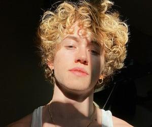 blonde, boy, and golden image