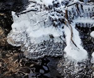 cold, frozen, and ice image