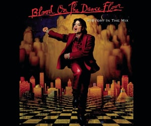 album, music, and blood on the dance floor image