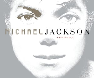 album, Invincible, and cover image