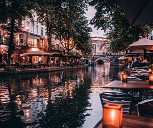 netherlands, autumn, and city image