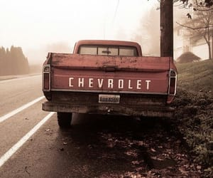 car, chevrolet, and road image