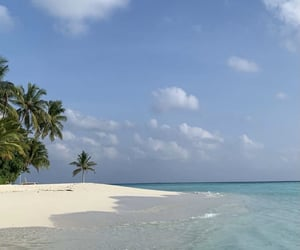 landscape, Maldives, and paysage image